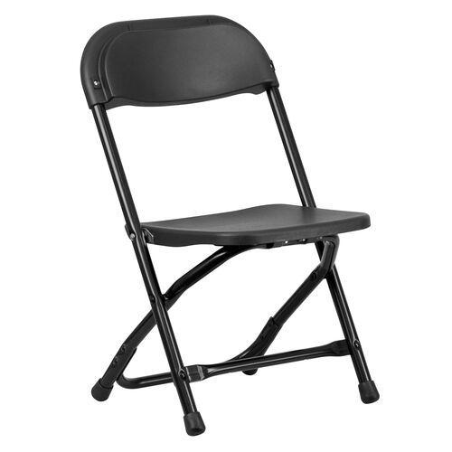 Kids Black Folding Chair Y Kid Bk Gg Foldingchairs4less Com In