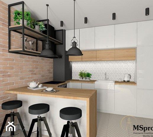 Kuchnia Styl Industrialny Modern Kitchen Cabinet Design Kitchen Inspiration Design Kitchen Design Decor