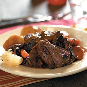 cooking light crock pot roast: Crock Pot, Cooker Recipe, Beef Recipe, Slow Cooker Pot Roast, Cooker Company, Cooking Light, Crockpot Recipe, Company Pot, Pot Roast Recipes