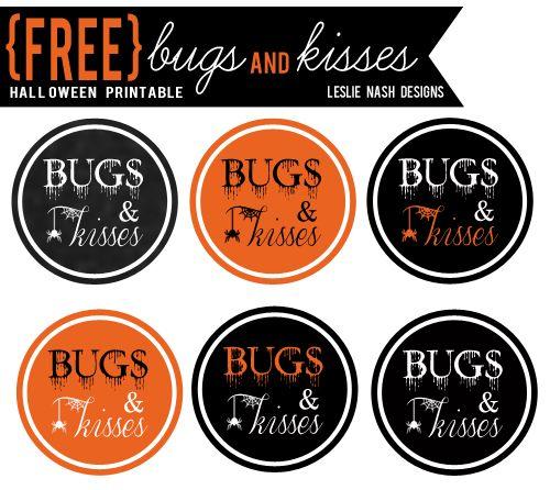 image relating to Bugs and Kisses Free Printable titled Nadine Krahn (nadine_krahn) upon Pinterest