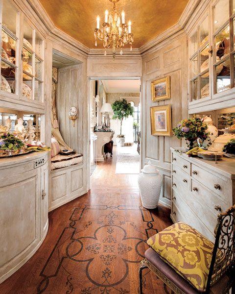 Butlers pantry...look at that floor!