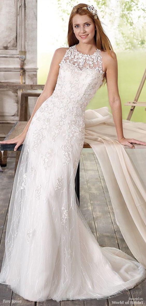 Сватбена рокля на Фера Sposa 2018