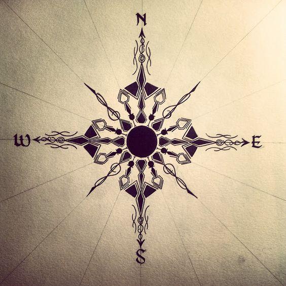 Compass Sketch by BlackPrint96.deviantart.com on @deviantART
