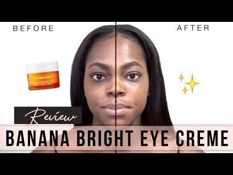 Get Rid Of Dark Circles Ole Henriksen Banana Bright Eye Creme Review Keamone F Youtube Eye Creme Ole Henriksen Bright Eye