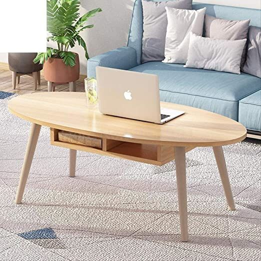 Ins Wind Wood Simple Nordic Coffee Table Small Apartment Short Table Creative Coffee Table L Coffee Table Living Room Modern Coffee Table Creative Coffee Table