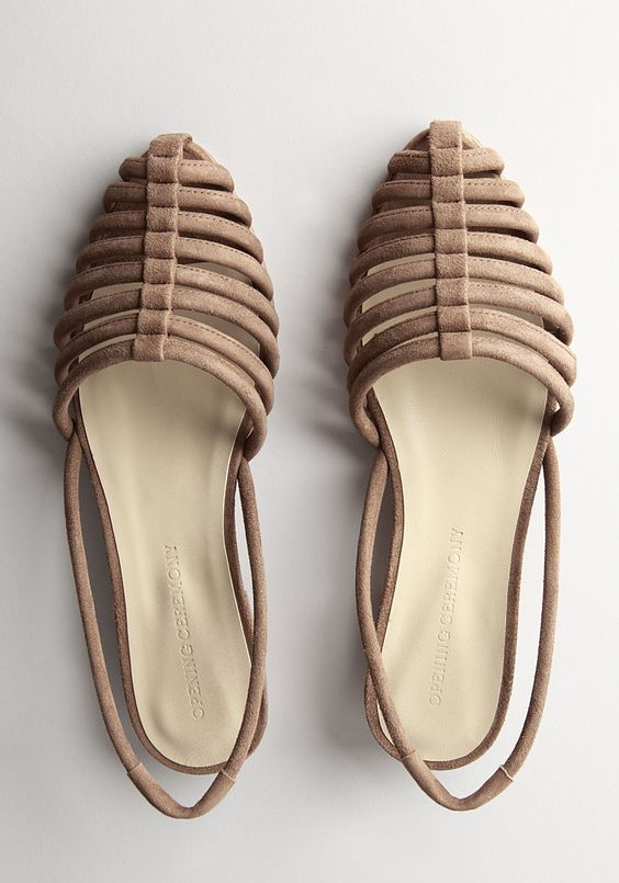 Initially these seem so frumpy, but then I picture wearing them with some really awesome, comfy jeans and a t shirt and suddenly they're awesome slip-on sandals that I don't want to have to take off when I come inside the house.