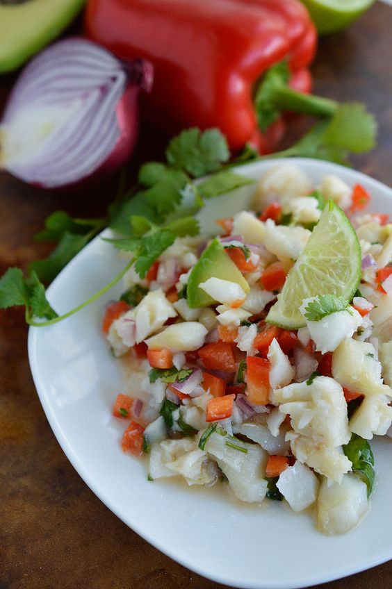 Something new salts and dishes on pinterest for Caribbean fish recipes