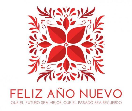 Feliz año nuevo. Que el futuro sea mejor. Que el pasado sea recuerdo