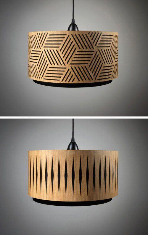 Min Jon 39 Ist Ein Etsy Shop Der Lasergeschnittene Lampenschirme Aus Holz Herstellt Die Schei Herstellt Lampenschi Holzleuchte Lampenschirm Lampe