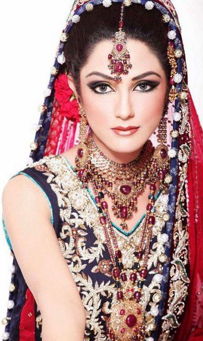 Stylish Bridal Wear Jewellary Collection 2014