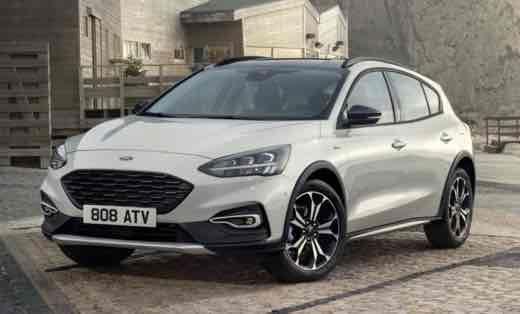 2019 Ford Focus Drivetrain
