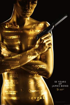James Bond - 50th Anniversary poster