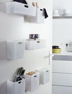 Omdat elke opbergplek in de keuken welkom is: monteer opbergvakjes op ...