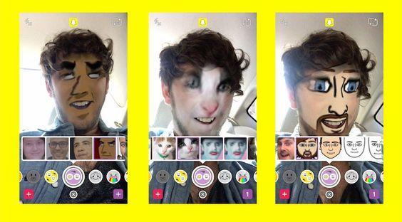 Snapchat propose maintenant déchanger les visages avec des photos déjà prises