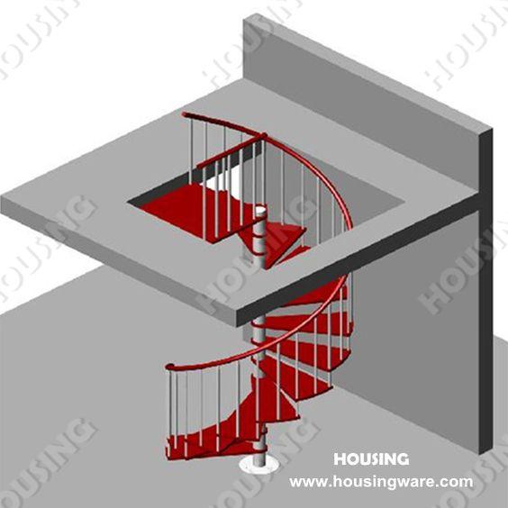 Escaleras para espacios peque os de cemento buscar con for Escaleras interiores en espacios reducidos
