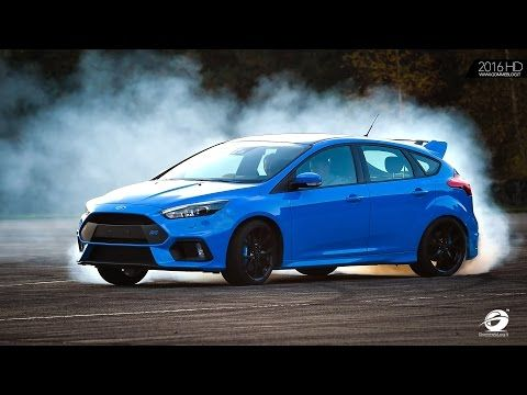 22 2016 Ford Focus Rs Track Drift Mode Test On Racetrack