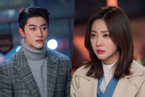 """Kwak Dong Yeon And Jo Bo Ah Are Caught In A Tense Moment In """"My Strange Hero"""""""