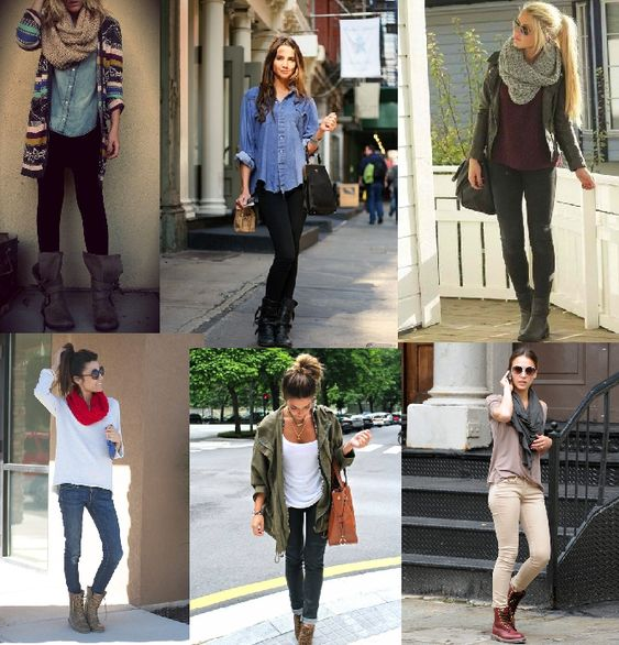 Wear your combat boots this fall. Outfit ideas | Dream Closet