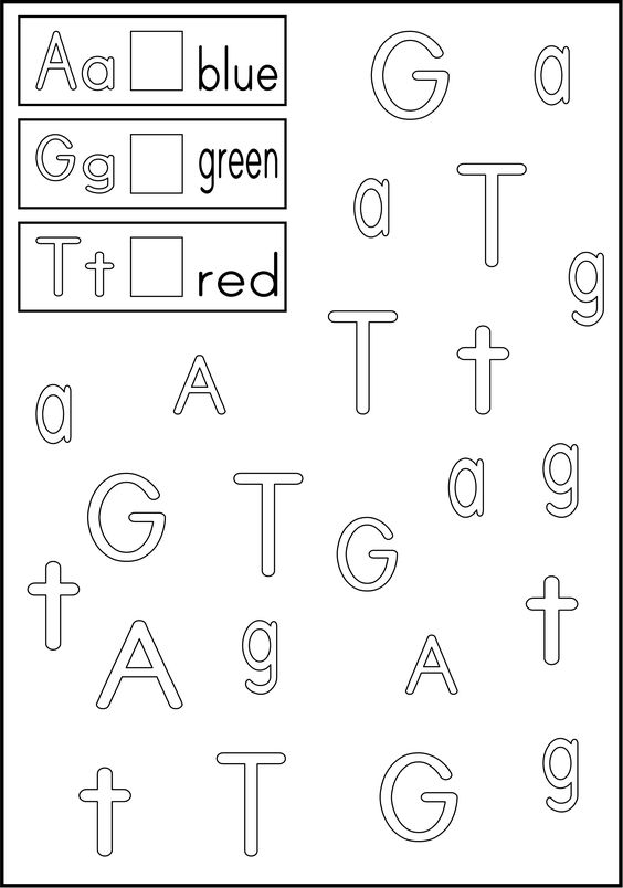 FInd and Color Letters of Your Name from http://yourtherapysource ...
