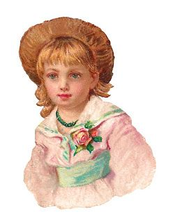 Victorian country girl image