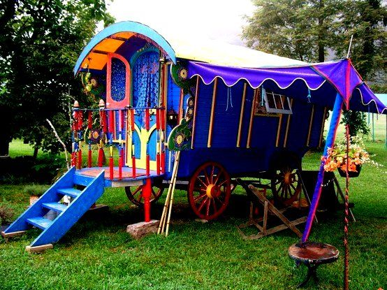 Image result for gypsy caravan