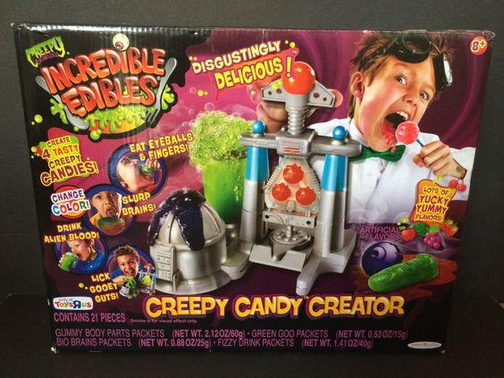 creepy crawlers incredible edibles candy creator   2011