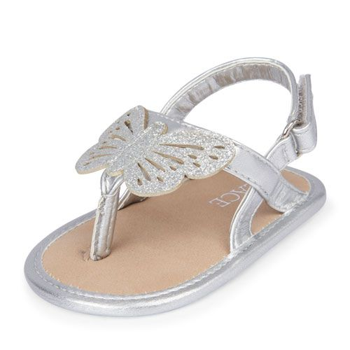 Baby sandals, Butterfly sandals, Baby shoes