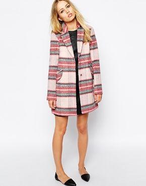 Coats Plaid and Plaid coat on Pinterest