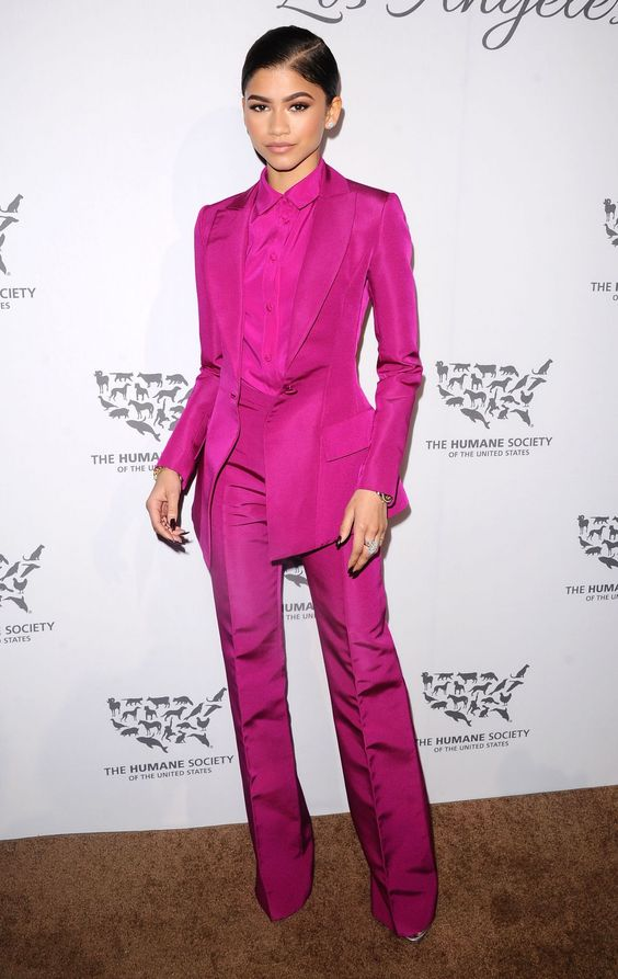 Zendaya attends the Humane Society of the United States to the Rescue Gala in Hollywood