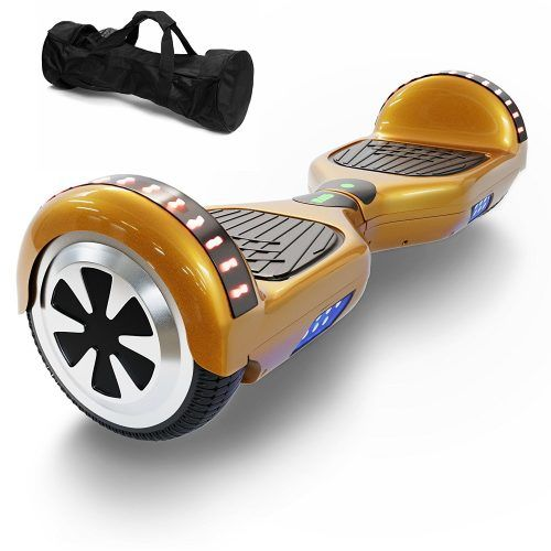 Hoverboard Two Wheel Self Balancing Electric Scooter 6 5 Ul 2272 Certified Print Coating With Bluetooth Speaker And Led Light Hoverboard Good And Cheap Cheap