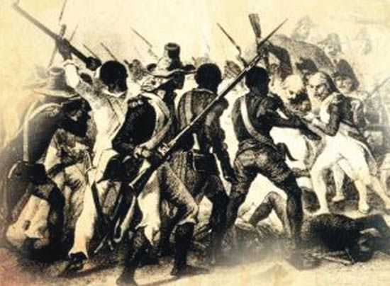 justified haitian slave revolt Haiti recensement (cap-haïtien, 1804) the revolution ended slavery in   biblical passage traditionally used in the early modern period to justify black  slavery.