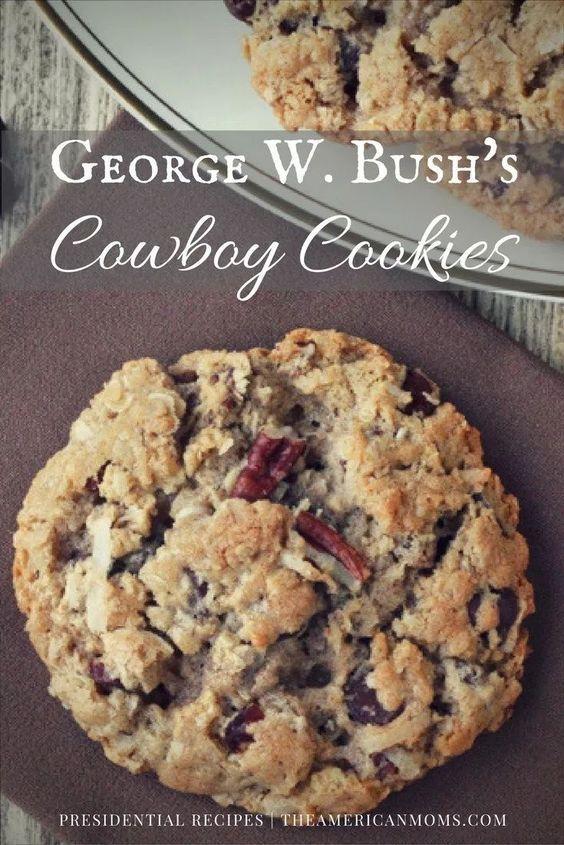 George W. Bush's Cowboy Cookies | THE AMERICAN MOMS