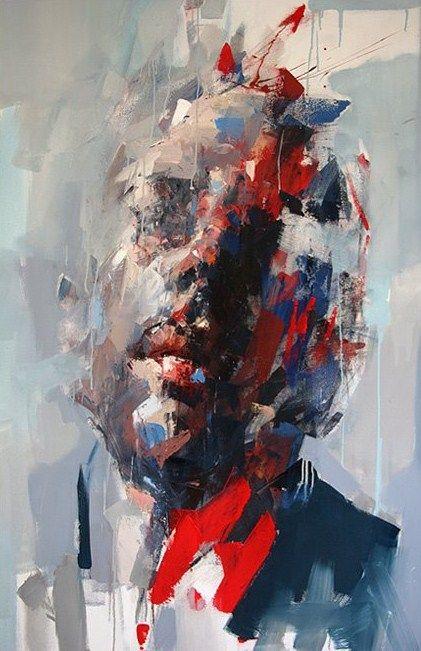 South Africa Artist Ryan Hewett (1979) | MixedMEDIUMonCANVAS 150x100cm