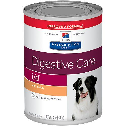 Hill S Prescription Diet I D Digestive Care With Turkey Canned Dog Food 13 Oz Case Of 12 Chewy Com Dog Food Recipes Canned Dog Food Food Animals