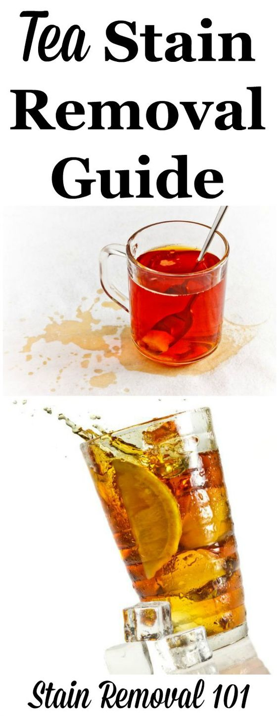 Tea Stain Removal Guide | Upholstery, A well and Carpets