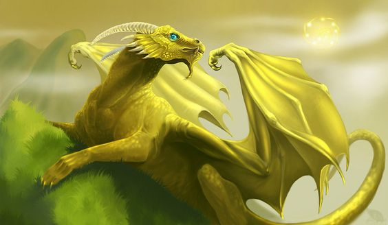 Golden Dragon by *Lynx-Catgirl on deviantART