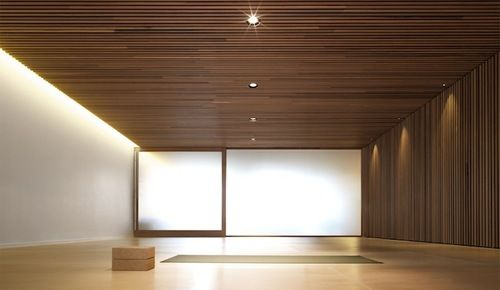 KM Yoga Studio by Tobias Partners The fitout consists of a near...