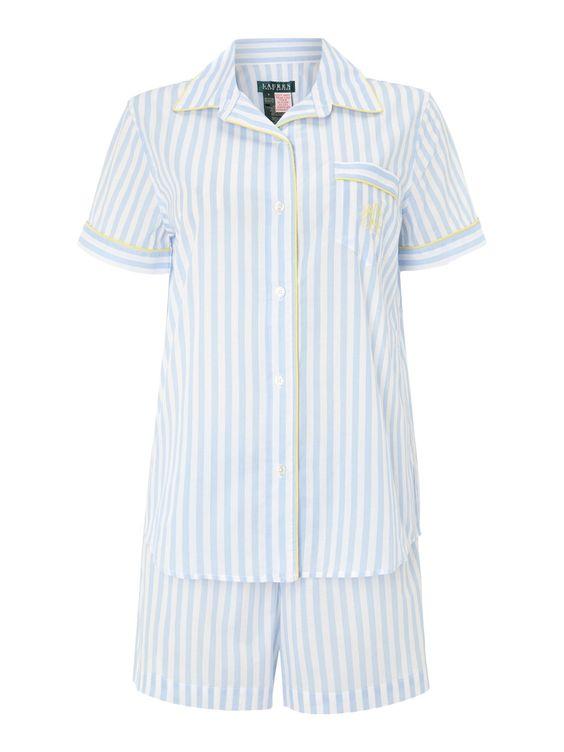 Lauren by Ralph Lauren Short Sleeve PJ Set - £59.50