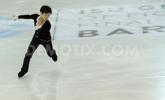 Sota Yamamoto leads junior mens short program in ISU Grand Prix BCN