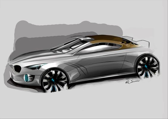 Bmw Sport Coupe Sketch Vehicles Pinterest Cars Bmw Sport And