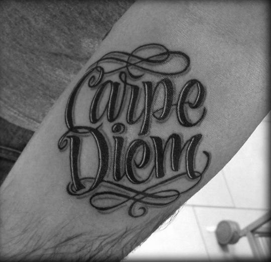 70 Carpe Diem Tattoo Designs For Men Seize The Day Ink Ideas