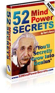 mind power,free mind power secrets,52mind power secrets,brain power,mind control