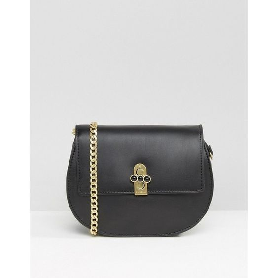 Fiorelli Huxley Small Across Body Bag (3.030 RUB) ❤ liked on Polyvore featuring bags, handbags, shoulder bags, black, chain shoulder bag, fiorelli, crossbody purses, fiorelli purse and chain strap handbag
