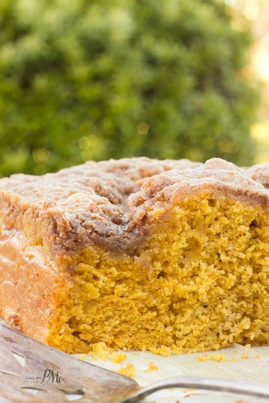 Easy Buttermilk Pumpkin Coffee Cake With Brown Sugar Streusel Recipe 6w Pumpkin Coffee Cakes Buttermilk Recipes Pumpkin Buttermilk Recipe