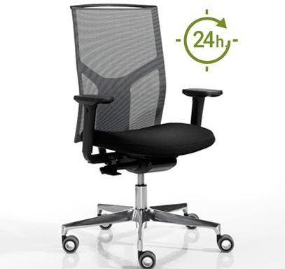 Silla de oficina 24 horas do aticakata s2720 precios for Sillas para oficina precios