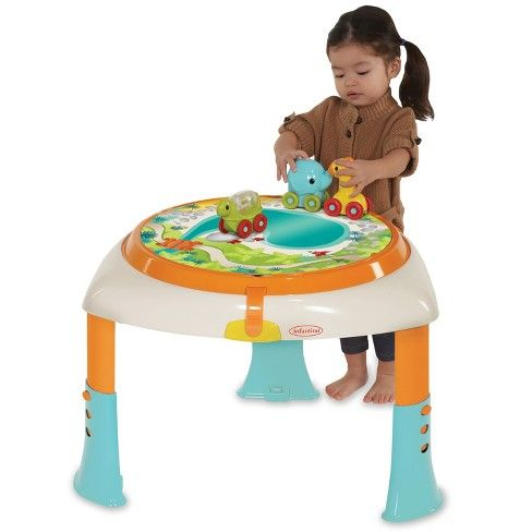Infantino Go Gaga Sit Spin Stand Entertainer 360 Seat Activity Table Activity Table Entertaining Play Activities