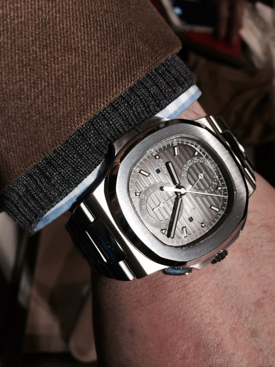 Patek Philippe: Nautilus Travel Time Chronograph