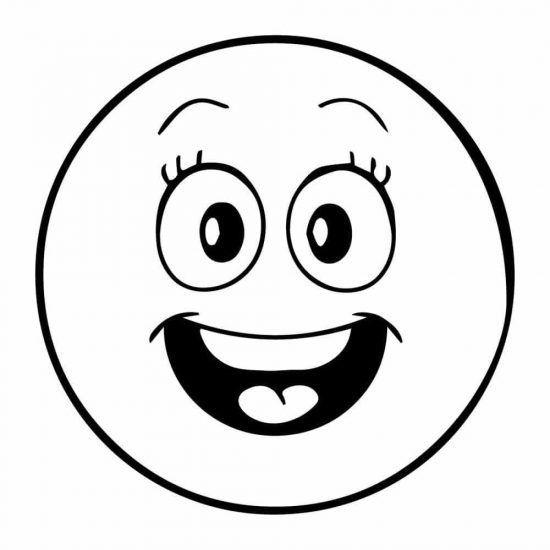 Dibujos Emoticonos Para Colorear Emoticones Dibujos Emojis Dibujos Caritas Para Colorear