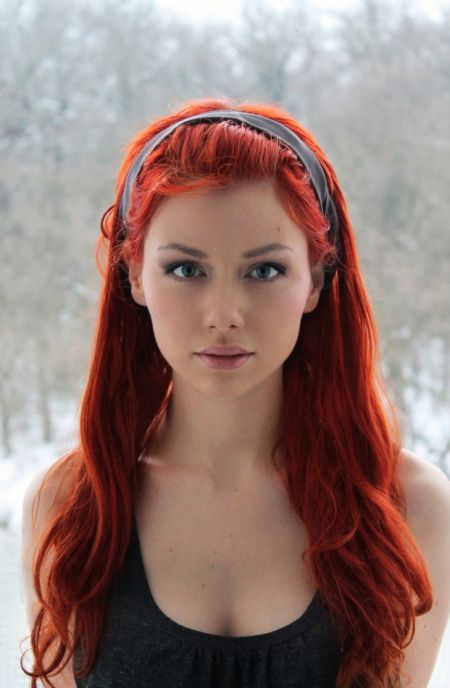 """Ashley Ray I Love Red Hair"" Me Too!! Very Pretty Lady"