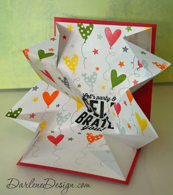 Explosion Card - see video tutorial